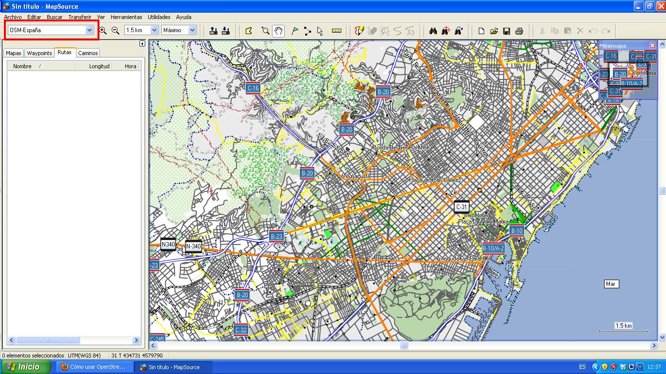 donde . cómo usar openstreetmap en gps garmin y mapsource  el blog de