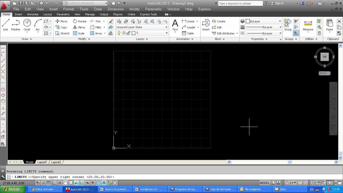 Cómo crear una rejilla regularmente espaciada en AutoCAD 2013 | El ...