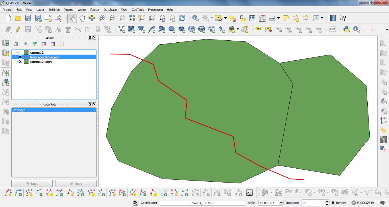 Cómo dividir un polígono por una línea en QGIS? | El Blog de José ...